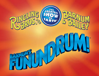 Presale Save 20% on tix for Ringling Bros. and Barnum & Bailey Present Barnum's Funundrum!