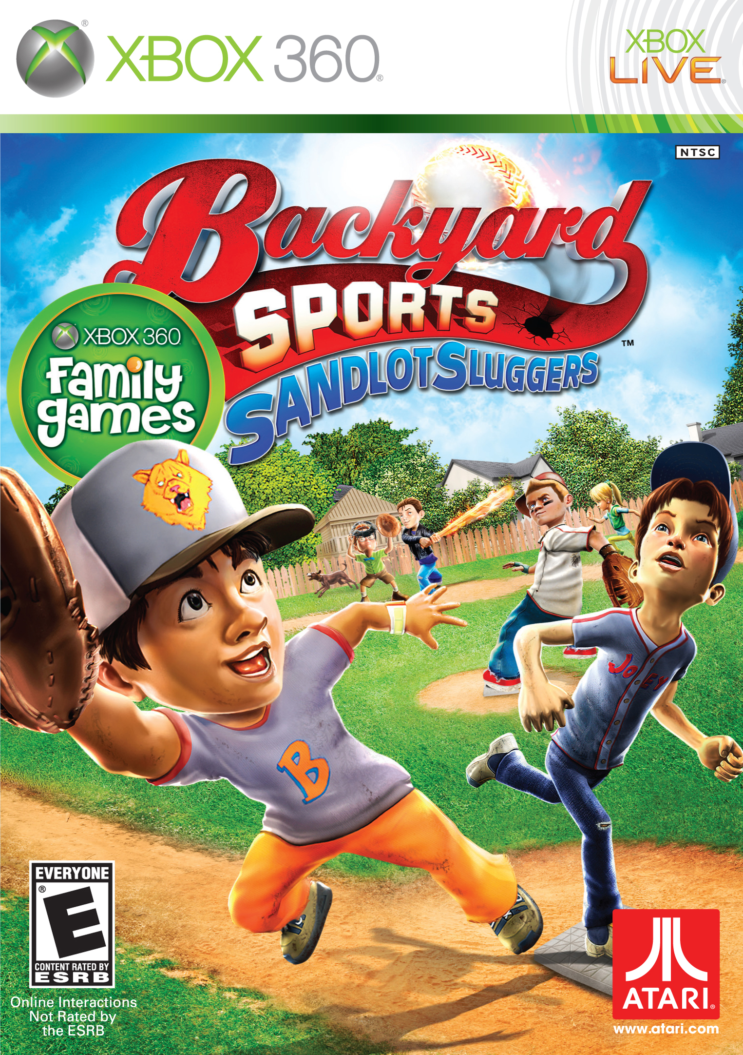 Sandlot Sluggers its out of the park fun! Game Giveaway