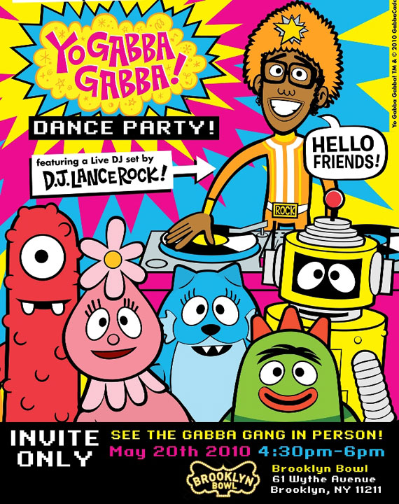Yo Gabba Gabba: There is a party in your city kick off!