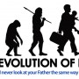 Evolution of Dad Logo With Tag Line
