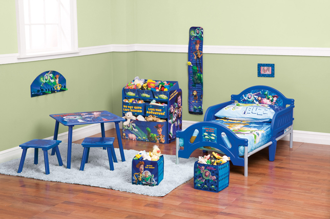 Win an entire Toy Story Toddler Bedroom Set & Family Movie Tickets
