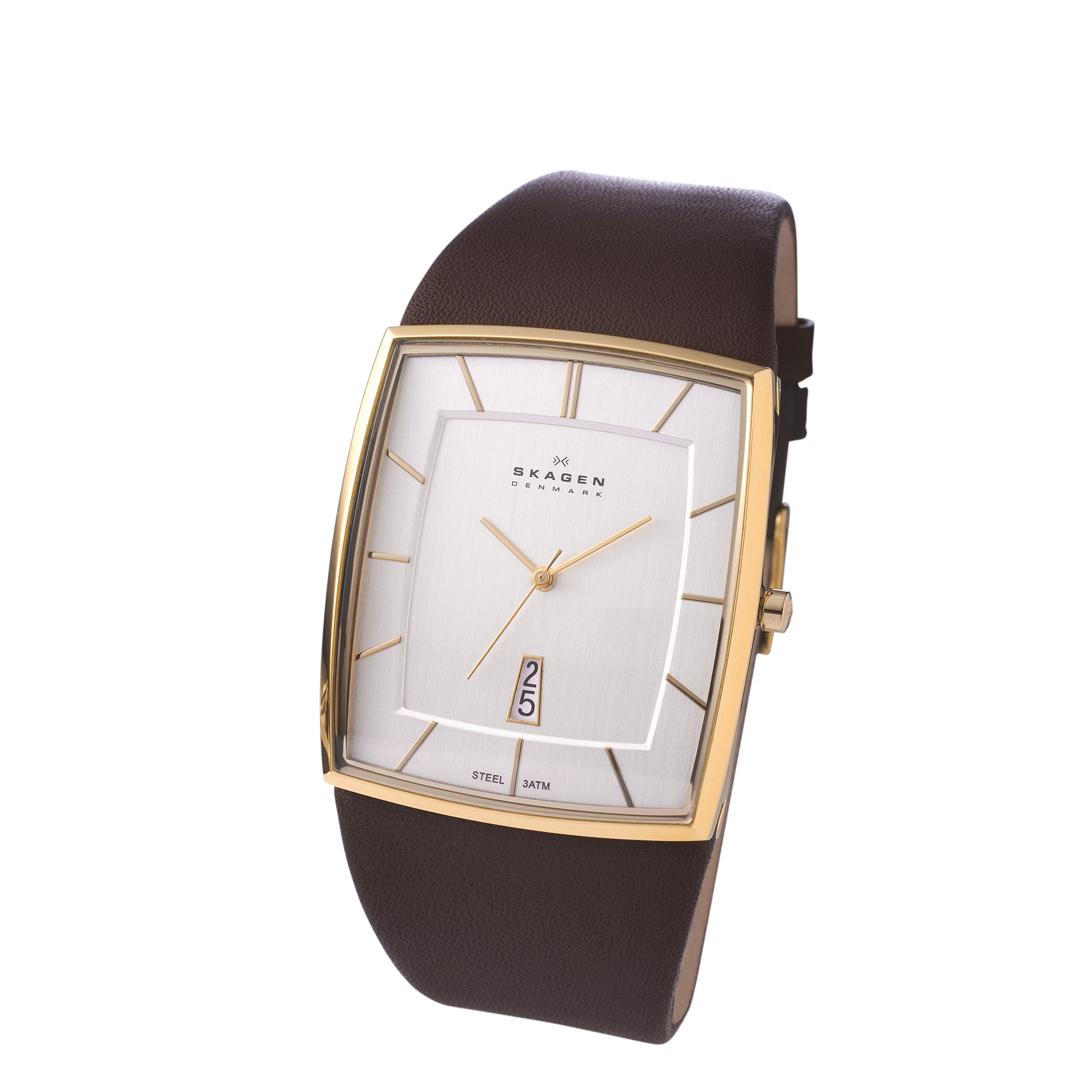 Don Draper always on time with these retro Skagen Denmark watches