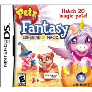 Ubisoft Petz Fantasy: Sunshine Magic for DS review and giveaway