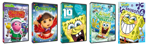 10 Days of Gifting! Nickelodeon DVD Prize Pack!