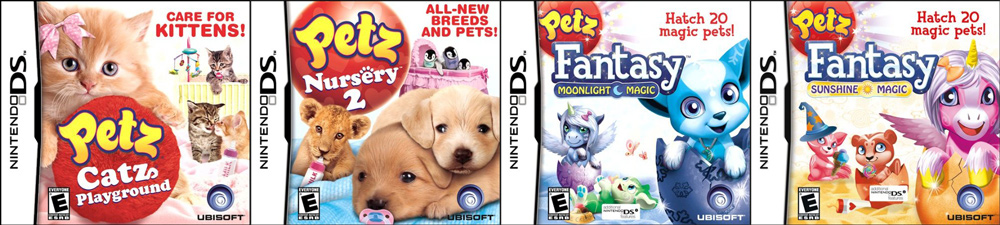 10 Days of Gifting! Ubisoft Petz Nintendo DS Game Pack!