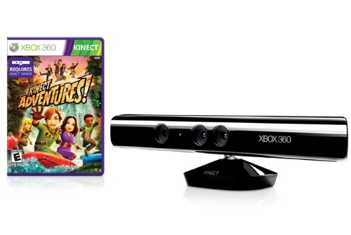 10 Days of Gifting! Xbox 360 Kinect Sensor with Kinect Adventures Giveaway
