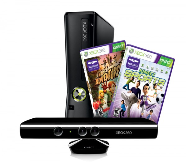 XBox 360 & Kinect with 2 games giveaway!