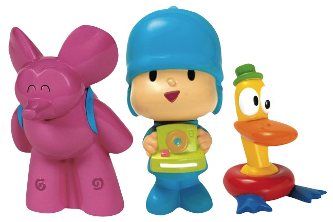 Pocoyo Bath Figures