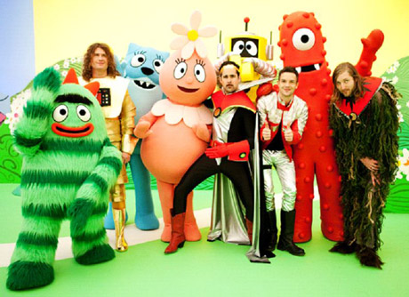New Episodes of Yo Gabba Gabba on Nickelodeon this week
