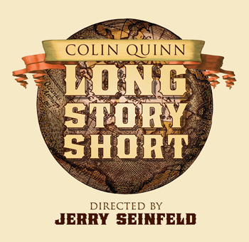 Colin Quinn Long Story Short on Broadway Ticket Giveaway