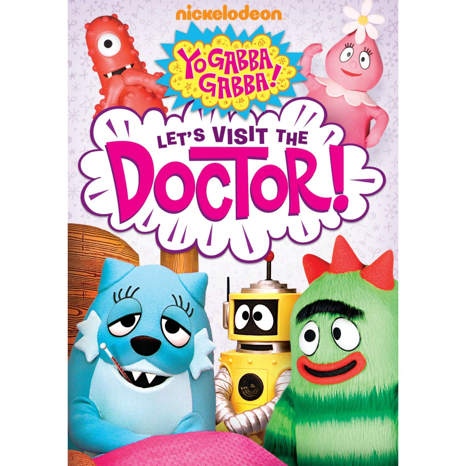 YO GABBA GABBA:  LET'S VISIT THE DOCTOR! DVD GIVEAWAY