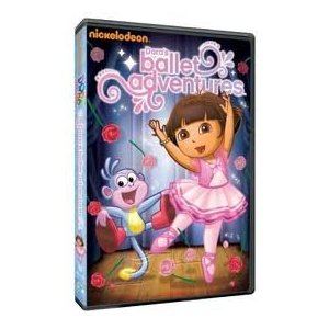 Dora The Explorer: Dora's Ballet Adventures on DVD – Giveaway