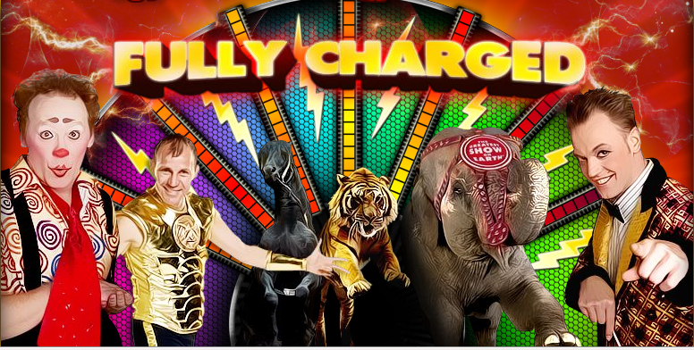 Ringling Bros. and Barnum & Bailey's Fully Charged – Coming into New Jersey & Long Island ticket giveaway