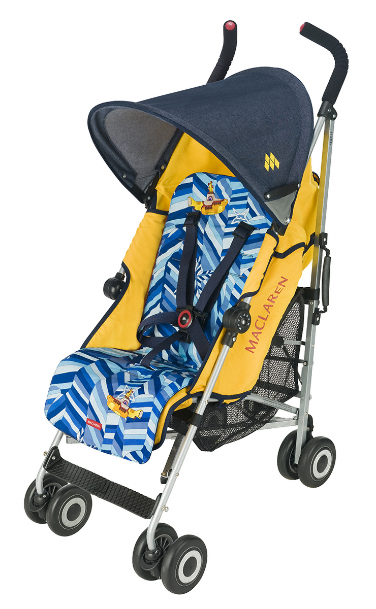 The Maclaren Beatles Yellow Submarine Stroller – Review and Giveaway