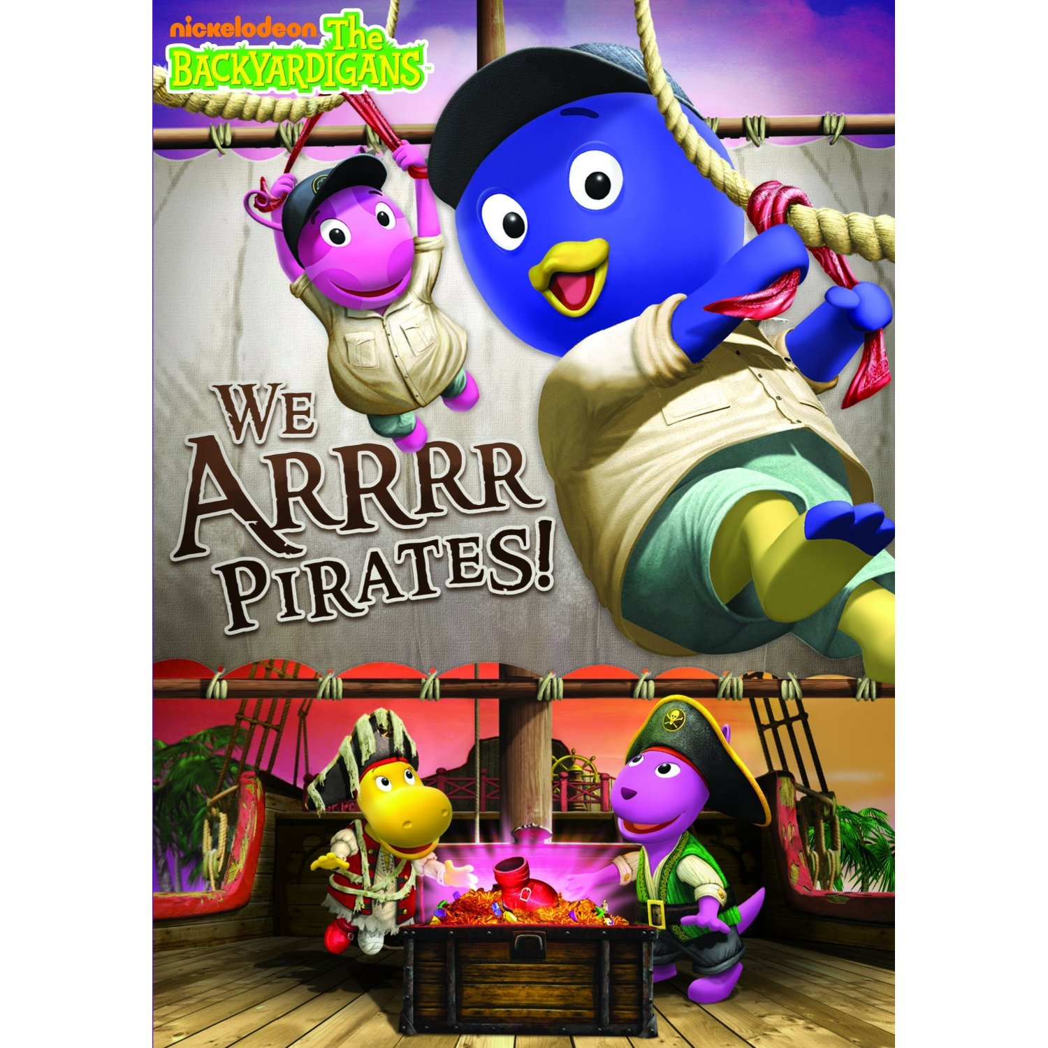 The Backyardigans: We Arrrr Pirates DVD Review and Giveaway
