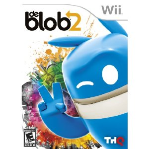 De Blob 2 Wii game review & giveaway