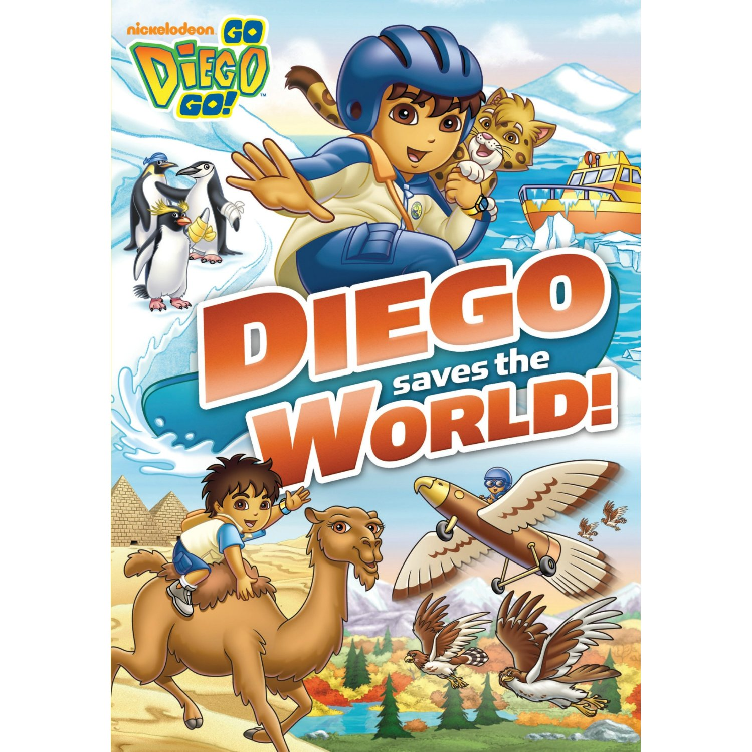 Go Diego Go! Diego Saves the World DVD review and giveaway