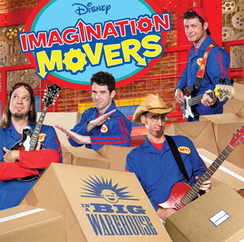 Imagination Movers tour moves into Boston MA April 23rd Family 4 pack ticket giveaway