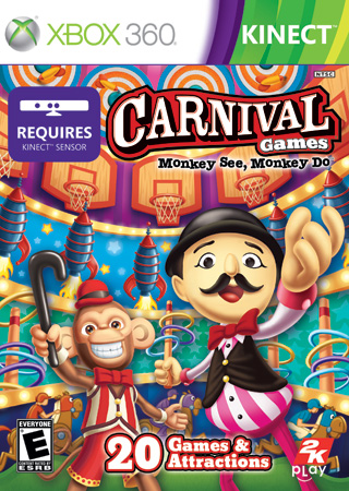 2K Play's Carnival Games: Monkey See, Monkey Do – Exclusively on Kinect for Xbox 360 Review and Giveaway