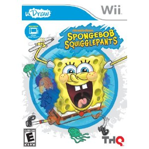 Spongebob Squigglepants for uDraw on Wii is out