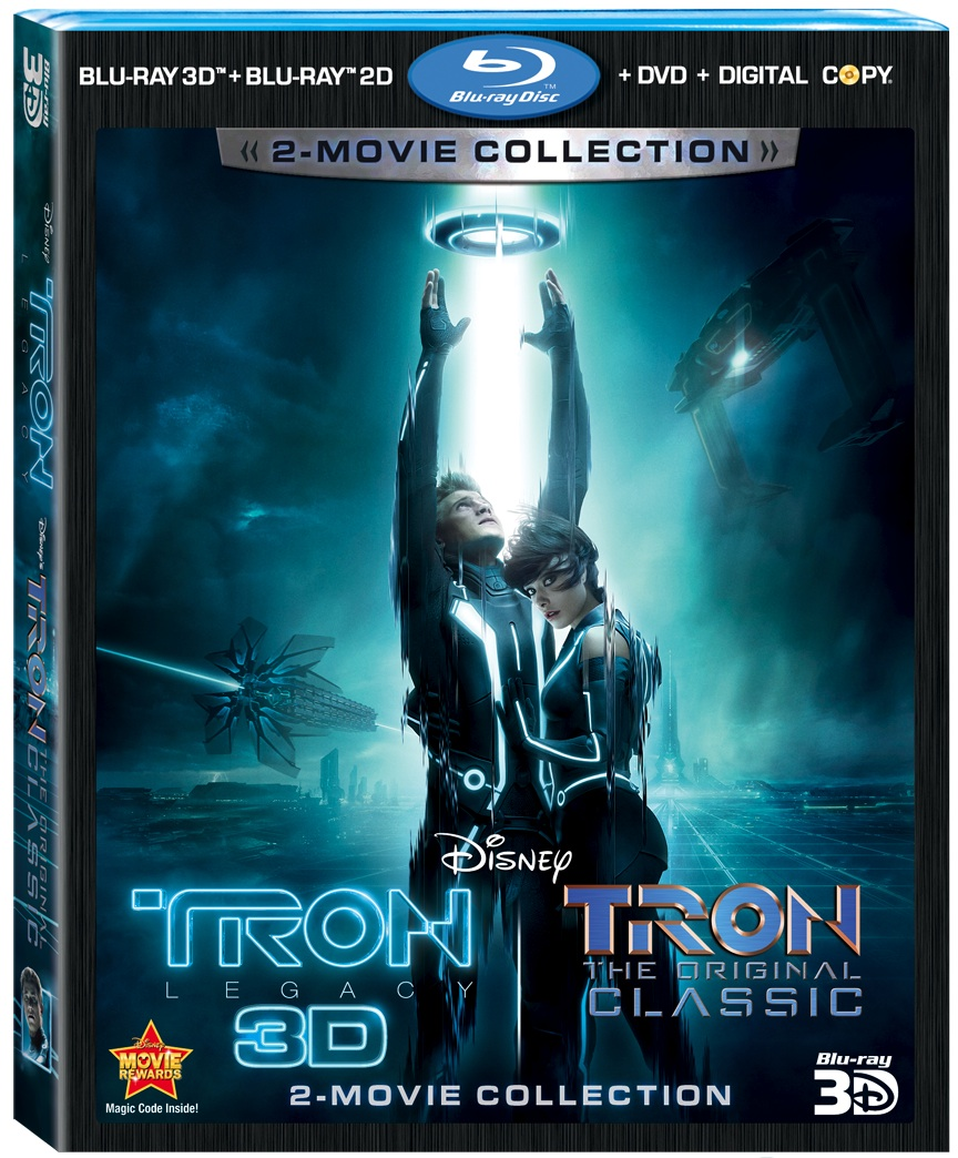 TRON: Legacy & TRON: The Original Classic 5-Disc 2-Movie Collection Giveaway