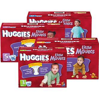 Win a 3 month supply of Huggies Diapers and tips on how to keep up with your little movers