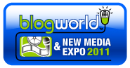 Blogworld comes to New York City Discount of 20% off conference pass 50% off expo pass