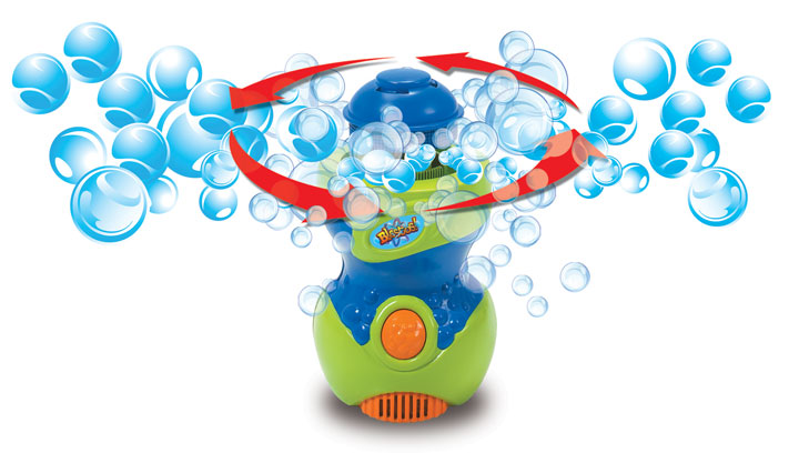 Outside fun with the Bubble Twister and Junkball Review and Giveaway