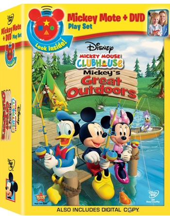 Mickey's Great Outdoors DVD with Mickey Mote Review & Giveaway