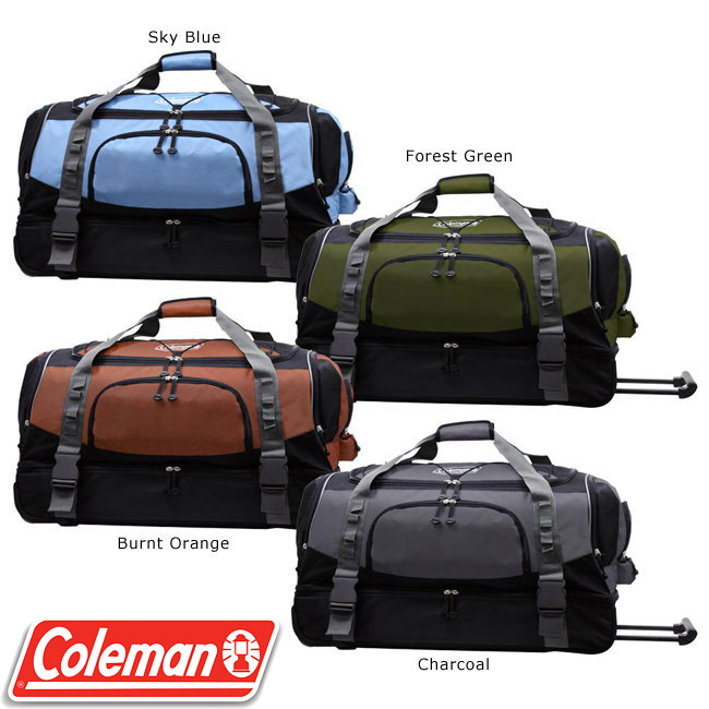 Father's Day Gift ideas from the Overstock's fair trade arm – Giveaway Rolling Duffel Bag