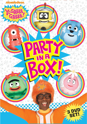 Yo Gabba Gabba: Party in a Box – DVD Box Set Giveaway
