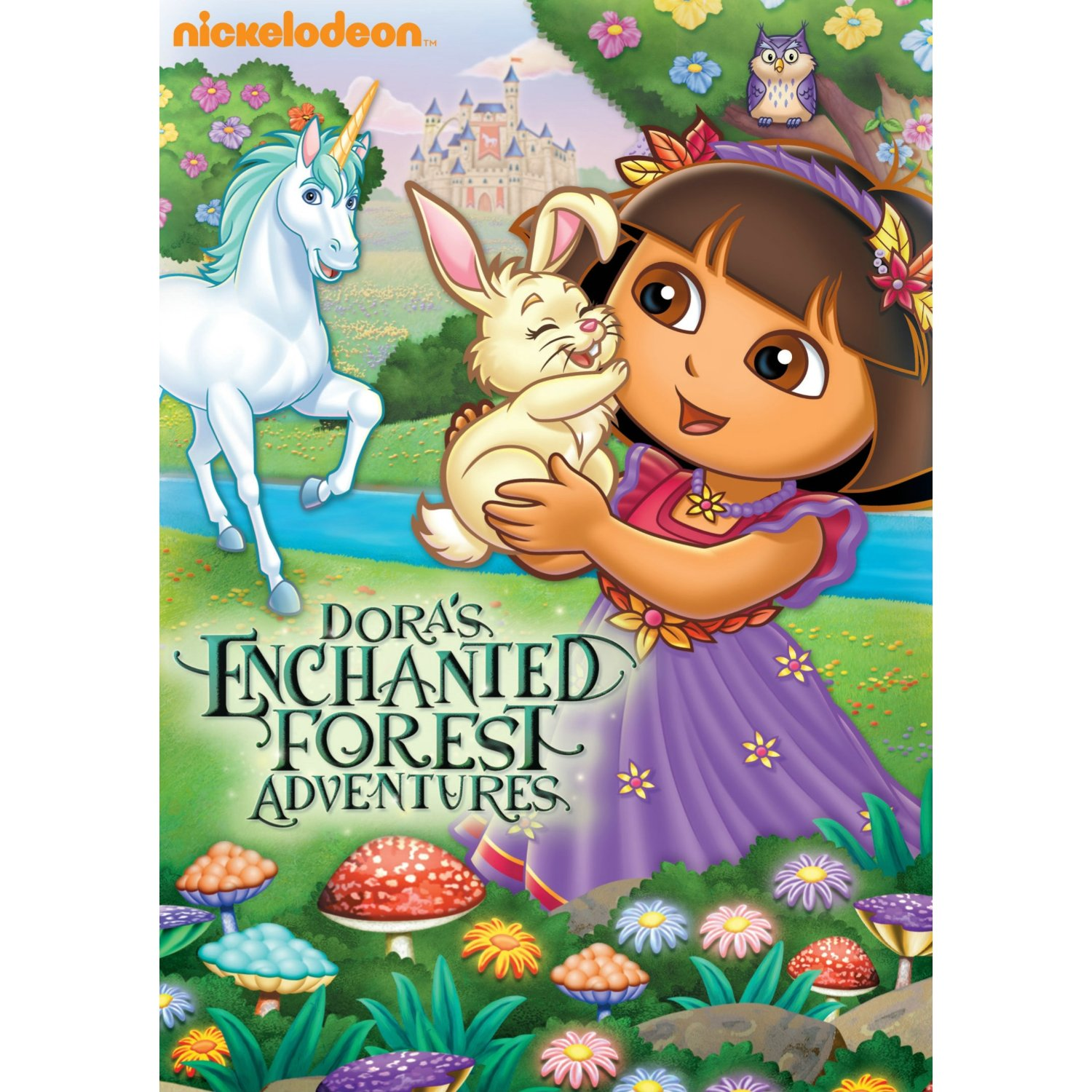 Dora the Explorer: Enchanted Forest Adventures DVD Review and Giveaway