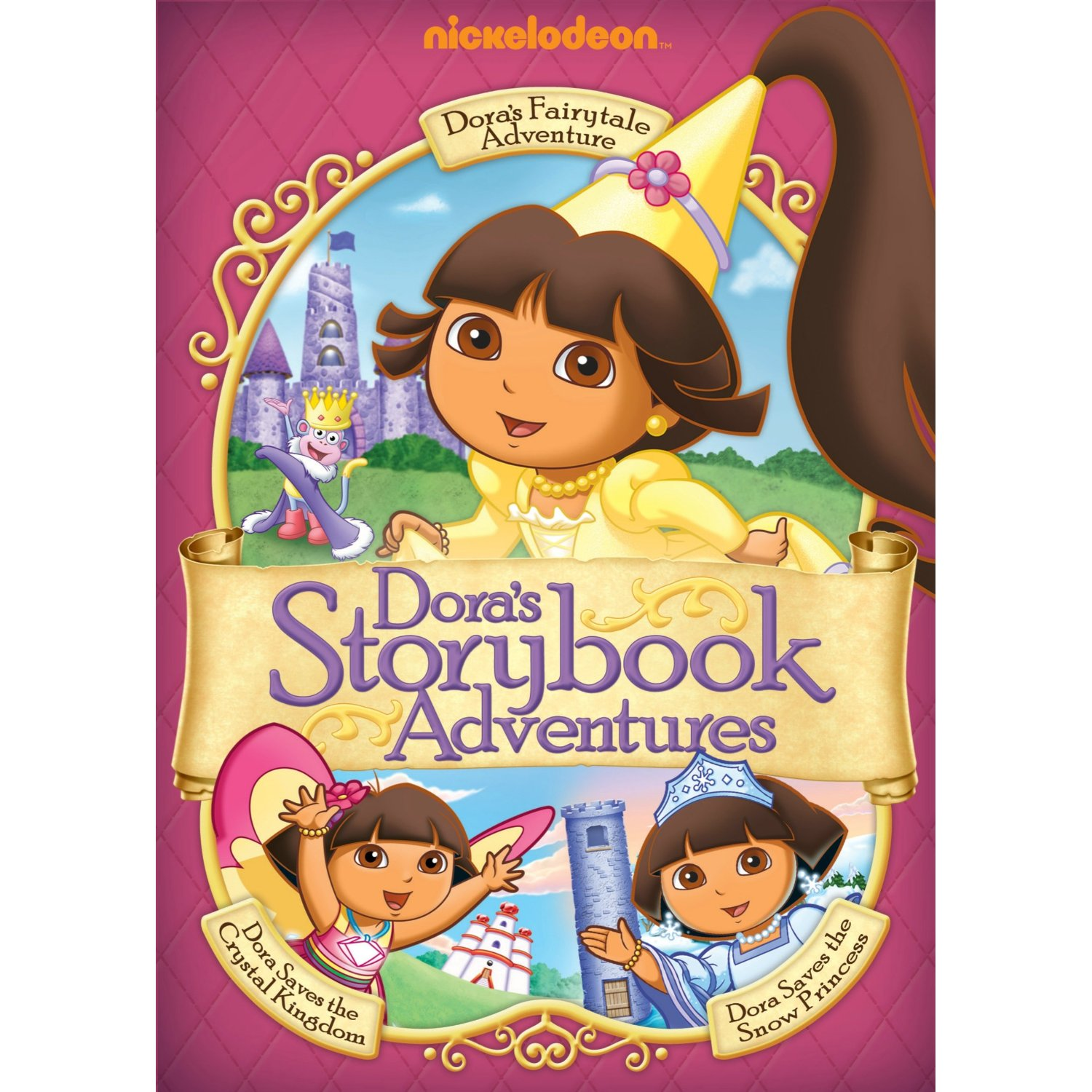 Dora the Explorer: Dora's Storybook Adventures Review and Giveaway