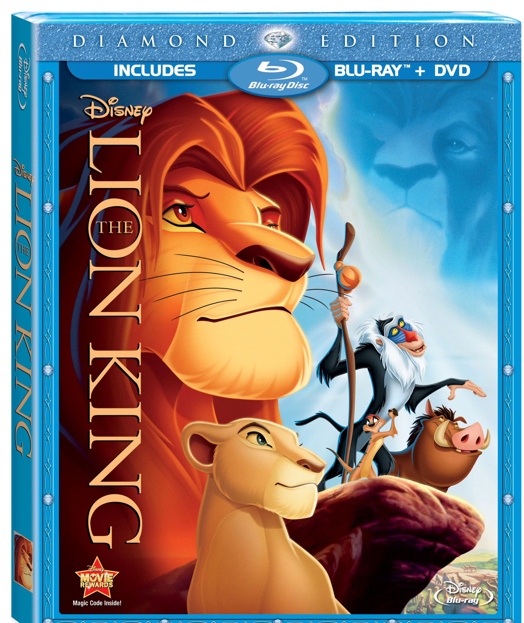 The Lion King Diamond Edition Combo pack review and giveaway