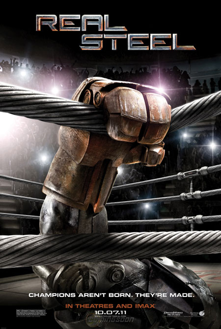 Real Steel hits the box office hard and a giveaway