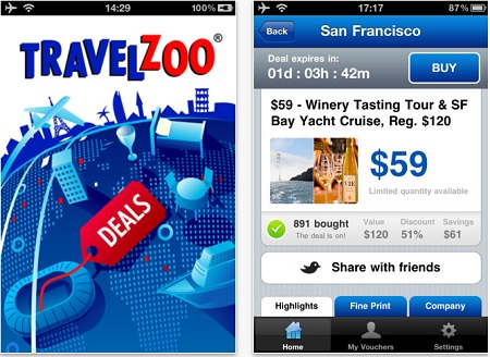 Traveling with Travelzoo and a deal app that saves you a ton