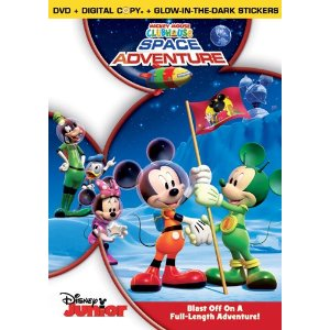Mickey Mouse Clubhouse: Space Adventure DVD Giveaway