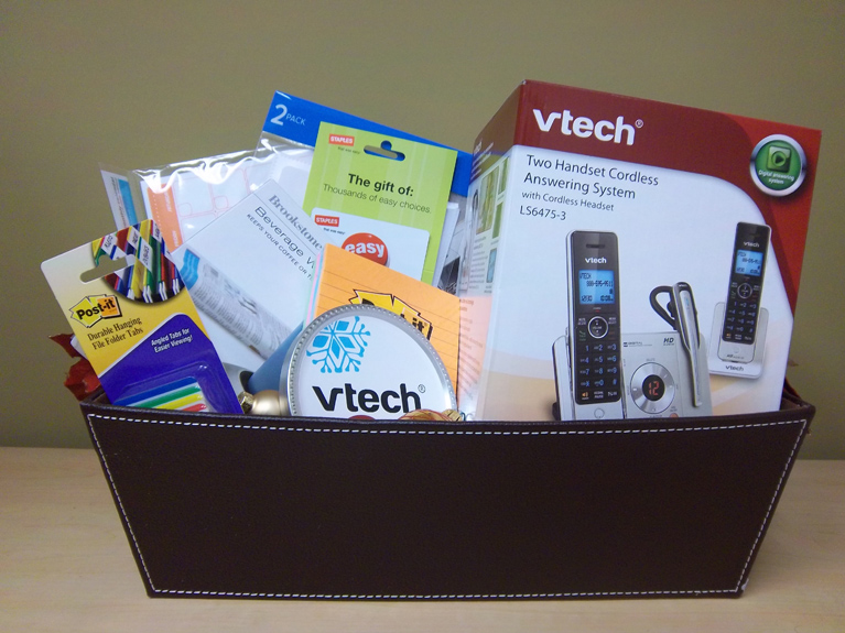 Want a VTech Phone multi-tasker basket this holiday season?