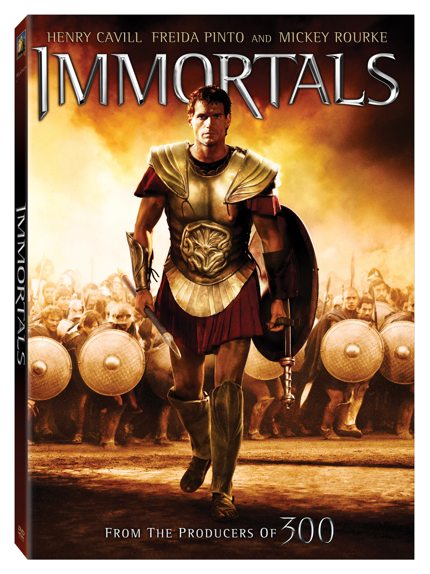 Movies that Kick: IMMORTALS now out on DVD