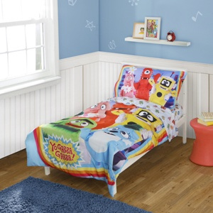 Yo Gabba Gabba introduces fun new bedding at Walmart and release a new DVD Super Spies