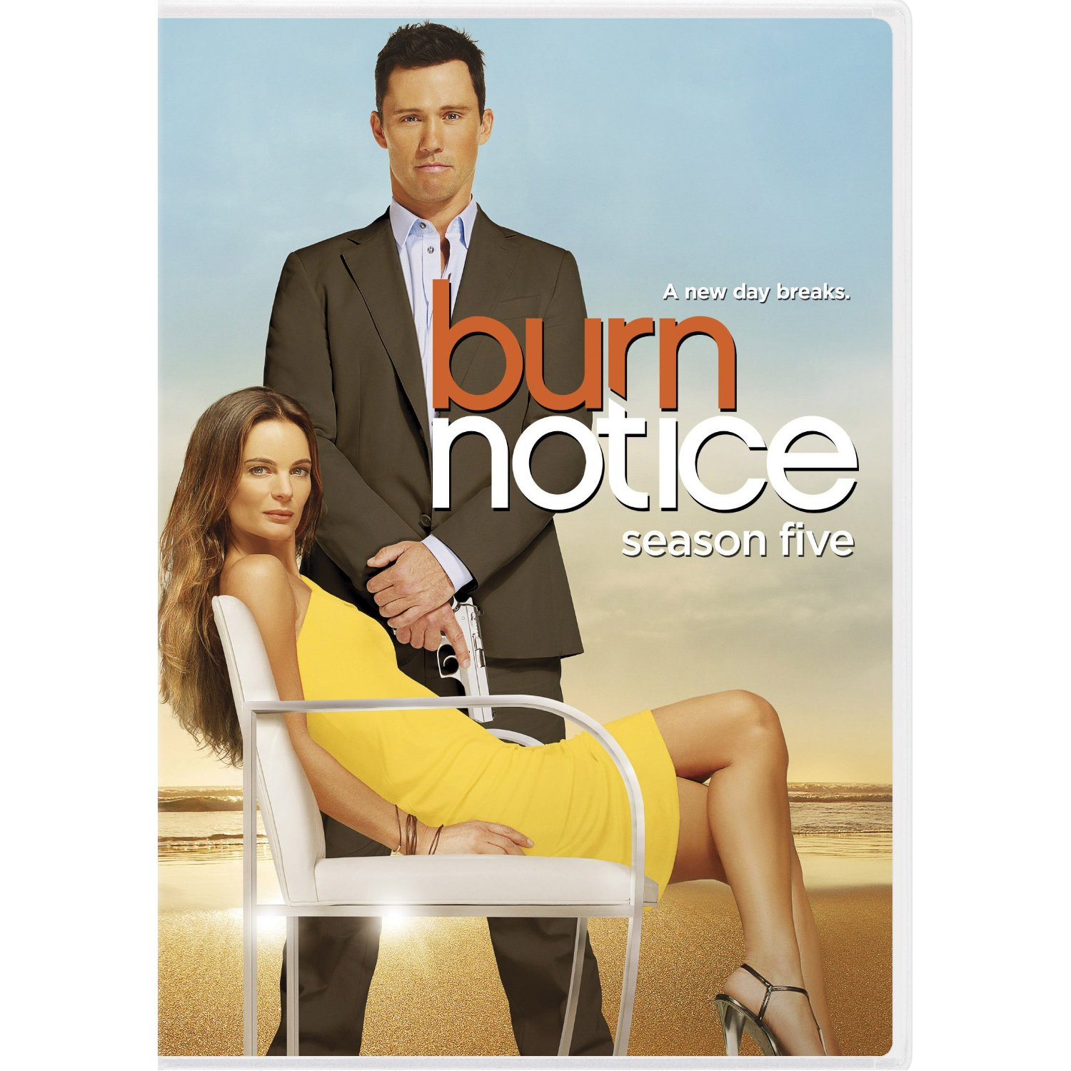 Father's Day Gift Idea: DVD Season packs of Burn Notice and White Collar – giveaway