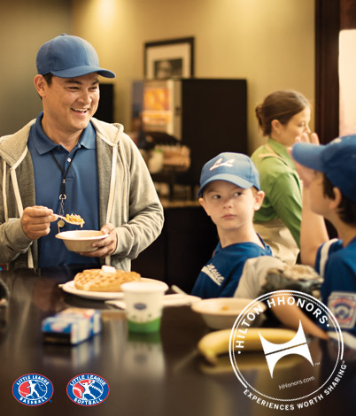 "Hilton HHonors Celebrates Little League Coaches With ""HHonors Outstanding Coach"" Contest & Sweepstakes"