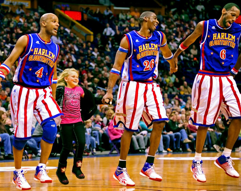 The Harlem Globetrotters bring the dunks to Brooklyn's The Barclay Center