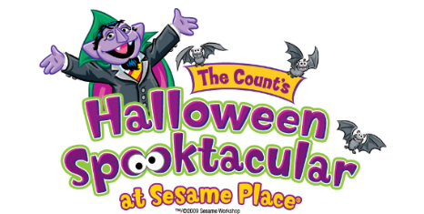 Get into the Halloween spirit with a visit to Sesame Place for The Count's Halloween Spooktacular
