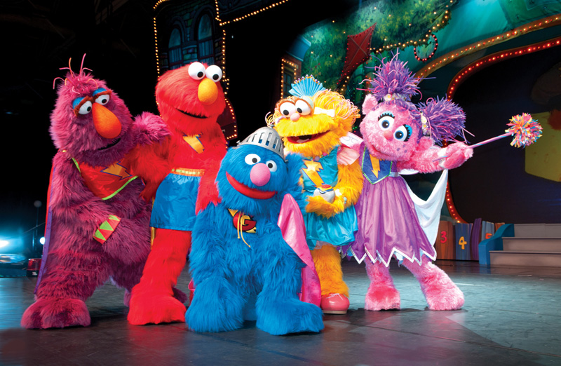 Sesame Street Live Elmo 39 S Super Heroes Is Coming To The Theater At Msg Dada Rocks