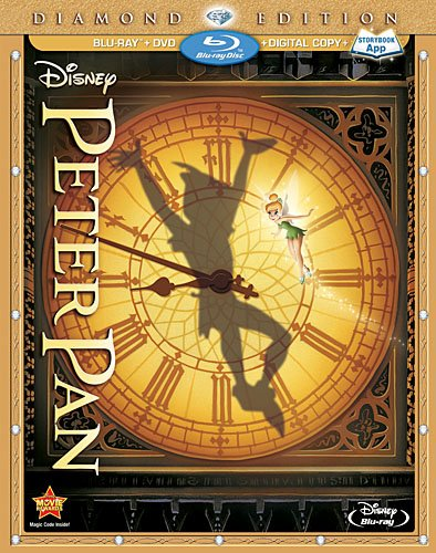 Peter Pan flies to BluRay