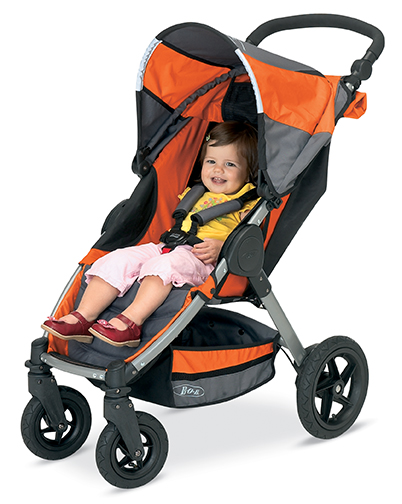 Bob Gear introduces its first four-wheel stroller the MOTION