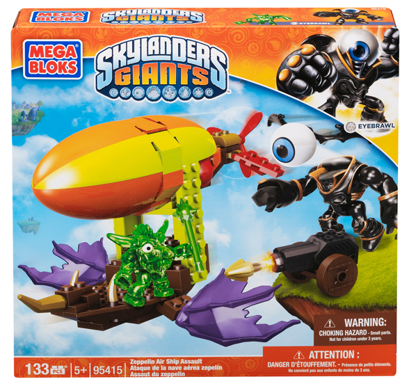 Mega Bloks Skylanders Giants Zeppelin Air Ship Assault