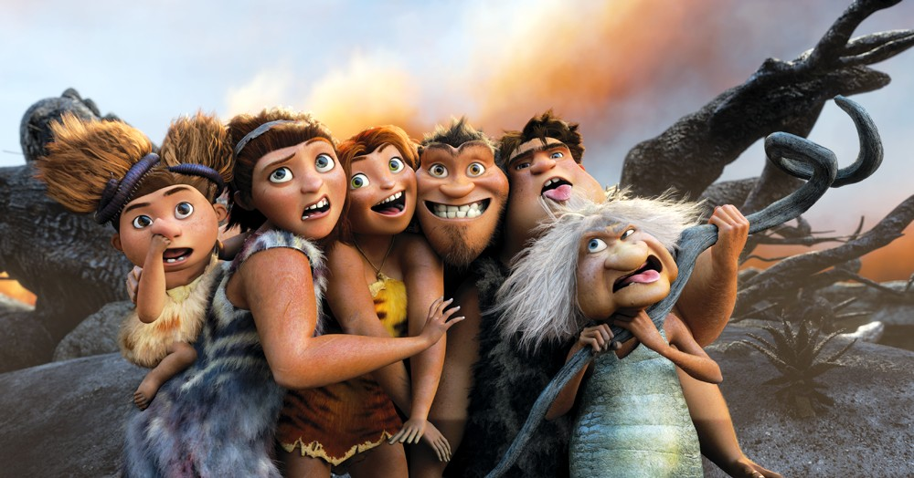 The Croods Movie opens this weekend – Totally a movie Dads should take the kids to see!
