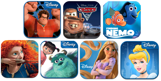 Disney Publishing is running a Mid-May Madness Sale on all Storybook apps!